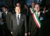 Arconate - Mantovani e Berlusconi