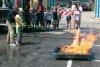 Inveruno - Esercitazione dei pompieri