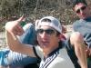 Castano Primo - Maurizio in un momento felice con gli amici