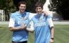 Sport - Thiago Motta e Diego Milito (Foto internet)