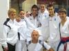 Castano Primo - Giovani atleti di karate in gara a Novara