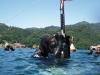 Durante un'immersione