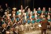 Arconate - Il Corpo Santa Cecilia durante un concerto