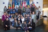 Arconate - I giovani delle scuole con il Sindaco Serati a Strasburgo