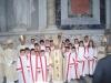 Roma - Chierichetti cuggionesi con il Cardinale Tettamanzi