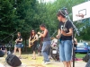Turbigo - I 'Grapple' durante un'esibizione