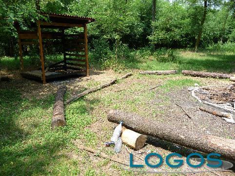 Castano Primo - Il campo base degli scout