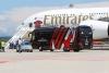 Attualità - L'A380 e il pullman del Milan (Foto Gualdoni e Belloli)