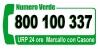 Marcallo - Numero Verde dell'Amministrazione
