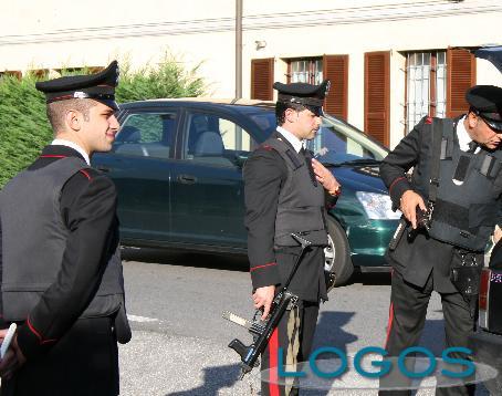 Territorio - Carabinieri durante un controllo