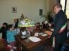 Castano Primo - Il sindaco Rudoni con un gruppo di bimbi