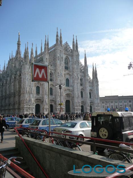 Milano - Il Duomo e la metropolitana