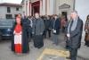 Ferno - Don Reginaldo durante la visita del Cardinale Tettamanzi