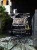 Casorezzo - In fiamme un autocarro