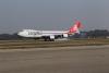 Malpensa - E' atterrato il Boeing 747-800 (Foto di Franco Gualdoni)