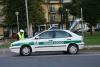 Castano Primo - Polizia locale ad un posto di controllo (Foto Guidolin)