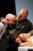 Una scena de 'La Tempesta' di Shakespeare, regia di Andrea De Rosa con Umberto Orsini
