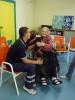 Castano Primo - Pet therapy alla Colleoni (Foto d'archivio)