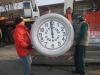 Malpensa - A Volandia lo storico orologio 'Caproni'