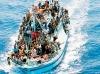Generica - Immigrati su un barcone (da internet)