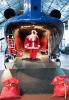 Malpensa - A Volandia, Babbo Natale arriva in elicottero