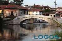 Bernate Ticino - Il ponte sul Naviglio grande