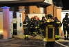 Casorezzo - Incendio in casa: due morti (Foto Pubblifoto)