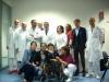 Legnano - Wei con l'equipe medica legnanese