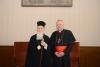 Milano - Il Cardinale Angelo Scola con il patriarca Bartolomeo