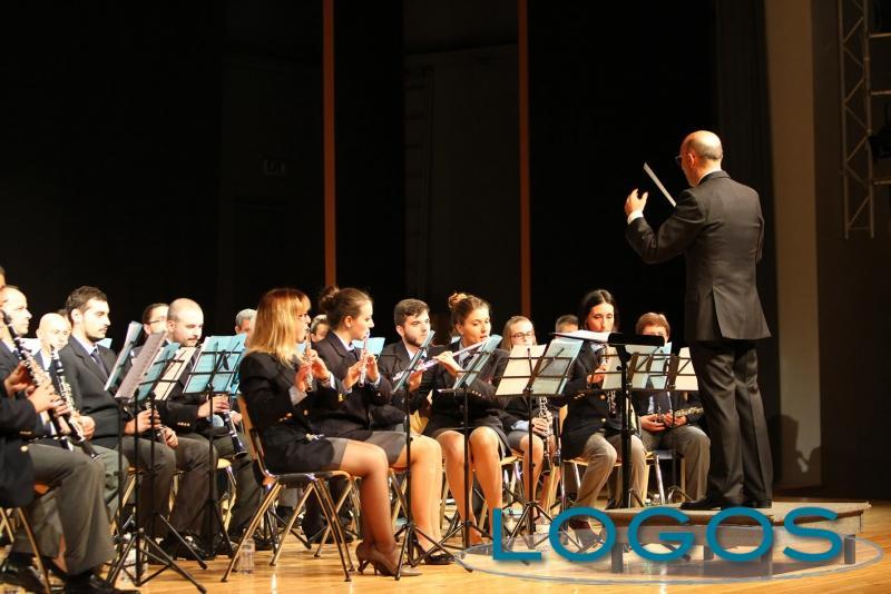 Castano Primo - Il corpo musicale Santa Cecilia al concerto d'autunno (Foto Franco Gualdoni)
