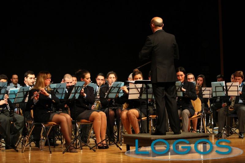 Castano Primo - La banda (Foto di Franco Gualdoni)