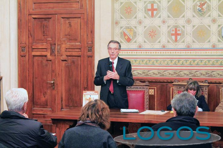 Legnano - Piermarco Locati in conferenza stampa