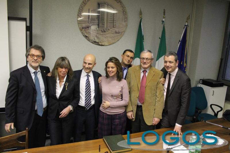 Magenta - Il ministro Lorenzin durante la visita al 'Fornaroli'