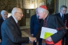 Sociale - Il Cardinale Scola col Presidente della Repubblica Napolitano