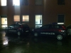 Cronaca - I carabinieri fuori dall'ospedale di Magenta