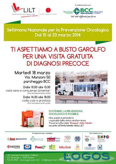 Busto Garolfo - Prevenzione Oncologica il 18 marzo 2014