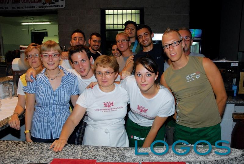 Castano Primo - La festa della birra della banda (Foto d'archivio)