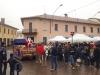 Inveruno - Slitta di Babbo Natale in piazza San Martino