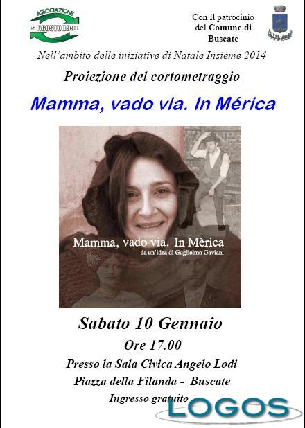 "Buscate - Volantino ""Mamma, vado via. In Mérica"""