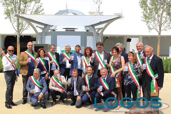 Expo 2015 - Il brindisi dei sindaci per le case dell'acqua