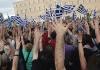 Attualità - Popolo greco in festa (da internet)