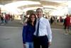 Expo - Roberta Vinci in visita all'Expo