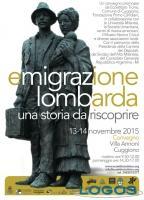 Cuggiono - Convegno Emigrazione Lombarda, la locandina