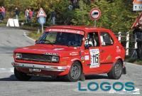 Turbigo - Bruno Antonio Perrone durante una gara di rally