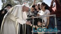 Attualità - Papa Francesco a Lesbo
