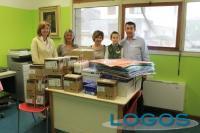 Cuggiono - La lista civica Agorà dona materiale didattico all'Infanzia 2016