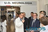Salute - Il presidente Maroni all'ospedale di Gallarate