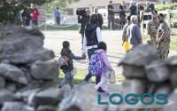 Attualità - Primo giorno di scuola per i bimbi di Amatrice (Foto internet)