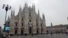 Papa a Milano - Il Duomo allestito con il manifesto dell'incontro