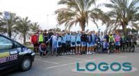 Sport - Il gruppo che ha preso parte alla Milano-Sanremo-Milano